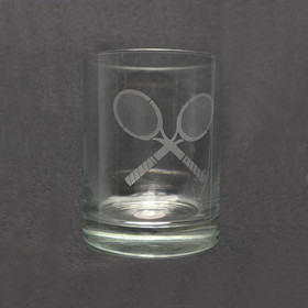 &quot;Double Old Fashioned&quot; Glass 