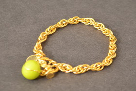Tennis Toggle Bracelet