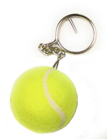 Tennis Ball Key Ring