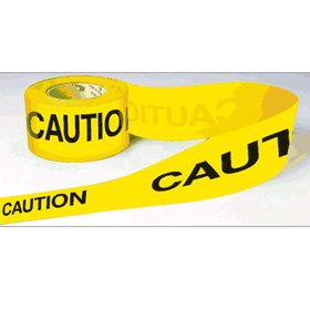 Seton 58429 Cloth Barricade Tape - Caution, Price/Roll