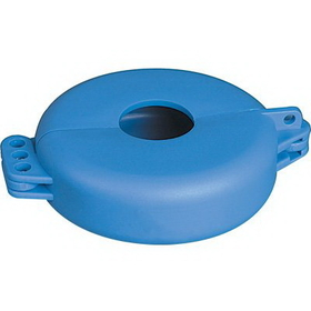 "Seton 83536 Valve Lockouts, Size: Valve Handles 1"" To 2-1/2"", Color: Blue, Price/Each"