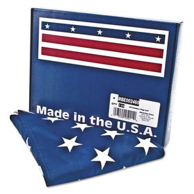 All-Weather Outdoor U.S. Flag, Heavyweight Nylon, 3 ft. x 5 ft., Price/EA