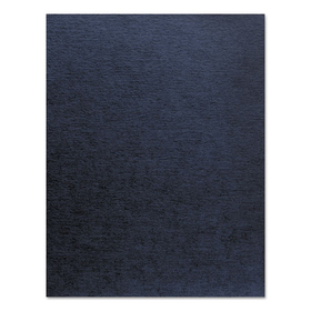 Linen Texture Binding System Covers, 11 x 8-1/2, Navy, 200/Pack, Price/PK