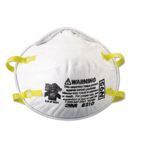 Lightweight Particulate Respirator 8210, N95, 20/Box, Price/BX