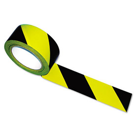 Hazard Marking Aisle Tape, 2w x 108 ft. Roll, Price/RL