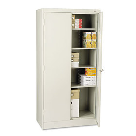 "72"" High Standard Cabinet, 36w x 18d x 72h, Light Gray, Price/EA"