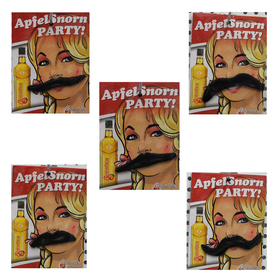 Assorted Stylish Mustaches for Ladies, Price/10 PCS