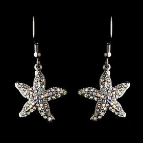Elegance by Carbonneau E-8502 Starfish Earring Set 8502