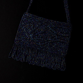 Elegance by Carbonneau EB-100-Navy Navy Evening Bag 100
