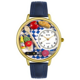 Whimsical Watches Gourmet Gold Watch