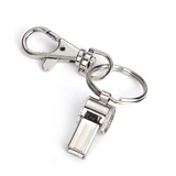 GOGO Mini Whistle With Key Chain, Metal Safety Emergency Survival Whistle With Swivel Lobster Clasp