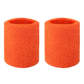 GOGO Thick Solid Color Wristband / Sweatband (Price for PAIR)