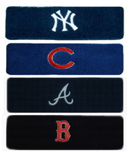 Headband / Sweatband with MLB Team Logo